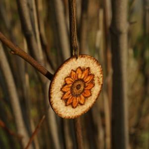drewniana zawieszka na choinkę