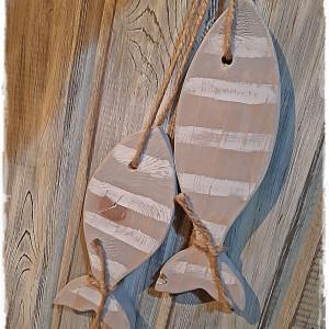Drewniane ryby