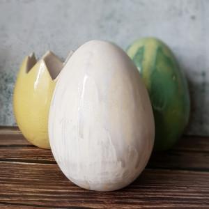 Duże jajko, jajo ceramiczne