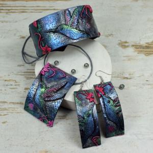 Duży komplet biżuterii - koliber