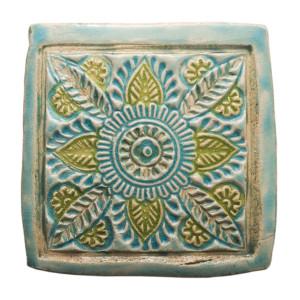 Dwa ceramiczne podstawki pod kubek orient 3