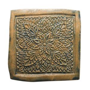 Dwa ceramiczne podstawki pod kubek zieleń orient 3