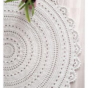 Dywan Mandala lace 100 cm