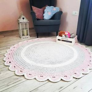 Dywan z sznurka bawełnianego 120 cm