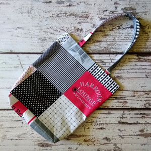 Eko torba bawełniana patchwork