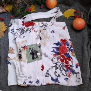 Eko torba z koszuli