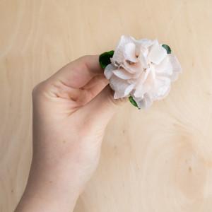 Ekskluzywne ślubne kwiatowe ozdoby do włosów róż2