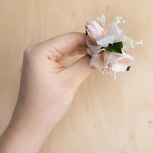 Ekskluzywne ślubne ozdoby do włosów róż 4