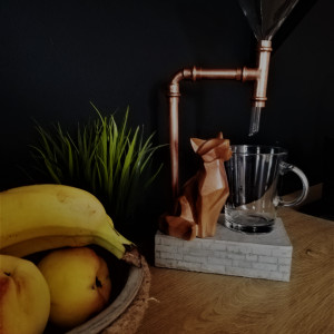 Ekspres przelewowy do kawy Concrete & Copper