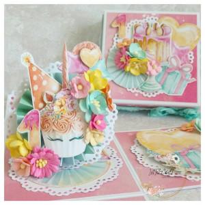 Exploding box na 1 urodziny