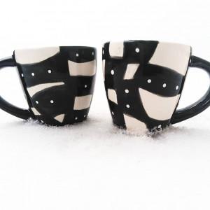 Filiżanki do espresso -Black&White