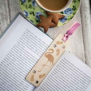 Flaming drewno - zakładka do książki