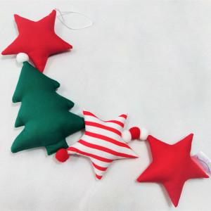 Girlanda świąteczna pionowa z choinkami :)