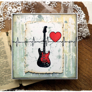 Gitara - kartka muzyczna