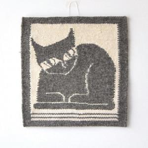 gobelin Czarny Kot