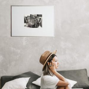 Grafika - ''Szkło I''- akwaforta