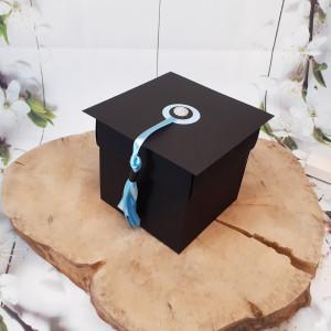 Gratulacje box z okazji ukończenia studiów