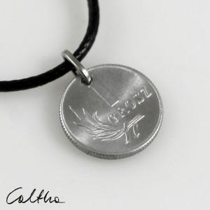 Grosik - wisiorek z monety