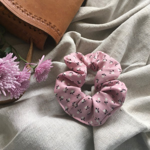 Gumka frotka różowa flora