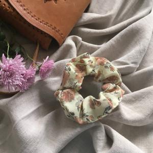 Gumka frotka różowa flora jesien