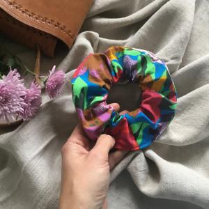 Gumka frotka różowa kolorowa