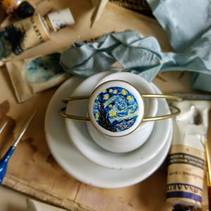 Gwiaździsta noc, van Gogh, bransoletka