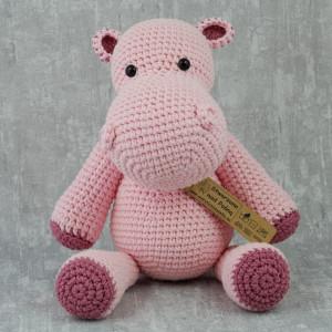 Hipopotam na szydełku