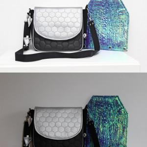 Holograficzna torebka z wymienną klapką! 2