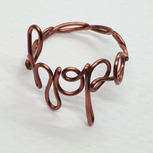 'hope' pierścionek