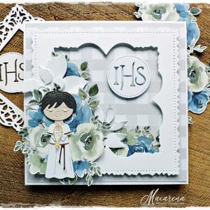 IHS 8 - kartka komunijna