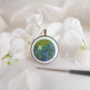 Irysy, Vincent van Gogh, porcelana