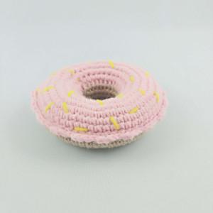 Jedzenie do zabawy pączek różowy 3+ Handmade