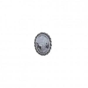 Kamea  macica perłowa w srebrze pierścionek