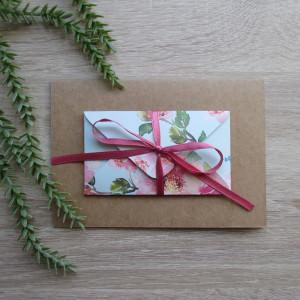 Karta z kopertą rajski ogród