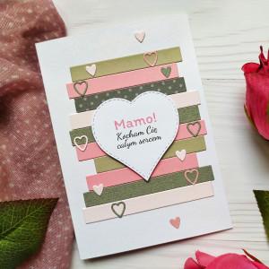 Kartka Dla Mamy z sercem
