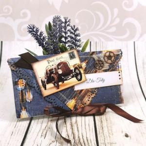 Kartka dla taty - retro pocztówka