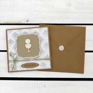 Kartka komunijna w kopercie (kk15)