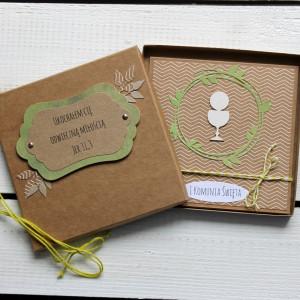 Kartka komunijna w pudełku (kk68)