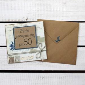 Kartka na 50 urodziny (k198)