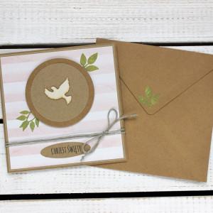 Kartka na chrzest w kopercie (kch85)