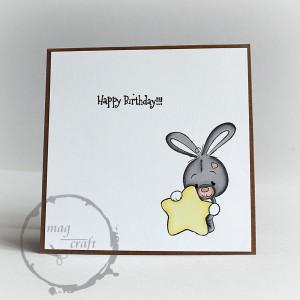 Kartka na urodziny, dla dziecka