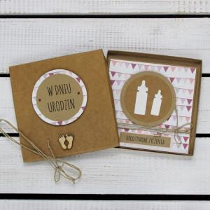 Kartka na urodziny w pudełku (kd25)