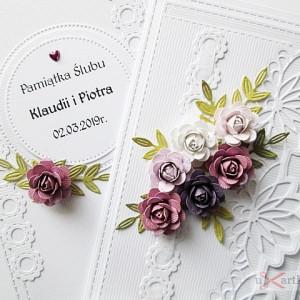 Kartka NA ZAWSZE RAZEM z różami #1