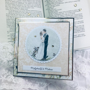 Kartka ślubna  #1