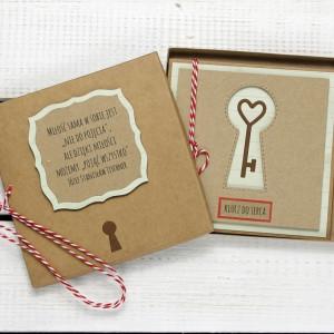 Kartka ślubna/miłosna w pudełku (ks148)