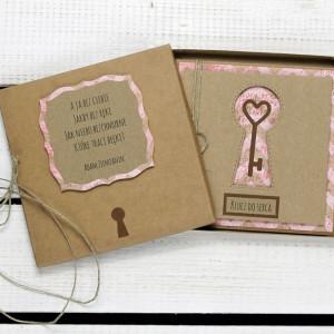 Kartka ślubna/miłosna w pudełku (ks149)