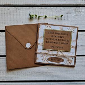 Kartka ślubna w kopercie (ks2A)