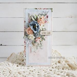 Kartka ślubna, w pudełku, 690