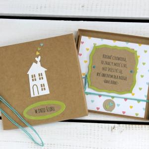 Kartka ślubna w pudełku (ks114)