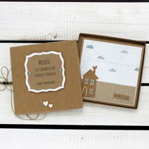 Kartka ślubna w pudełku (ks167)